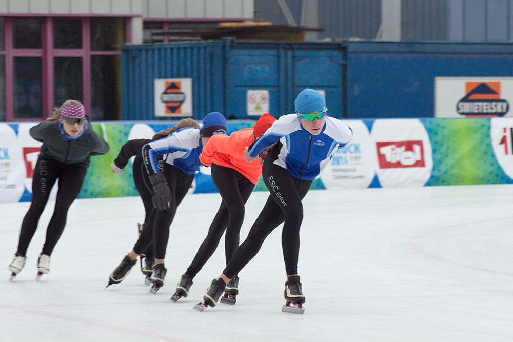 160112_Speedskating_Training_ESC Erfurt Deutschland