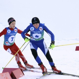 Cross country skiing seefeld
